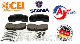 Тормозные колодки Scania серии Евро 2 3 5