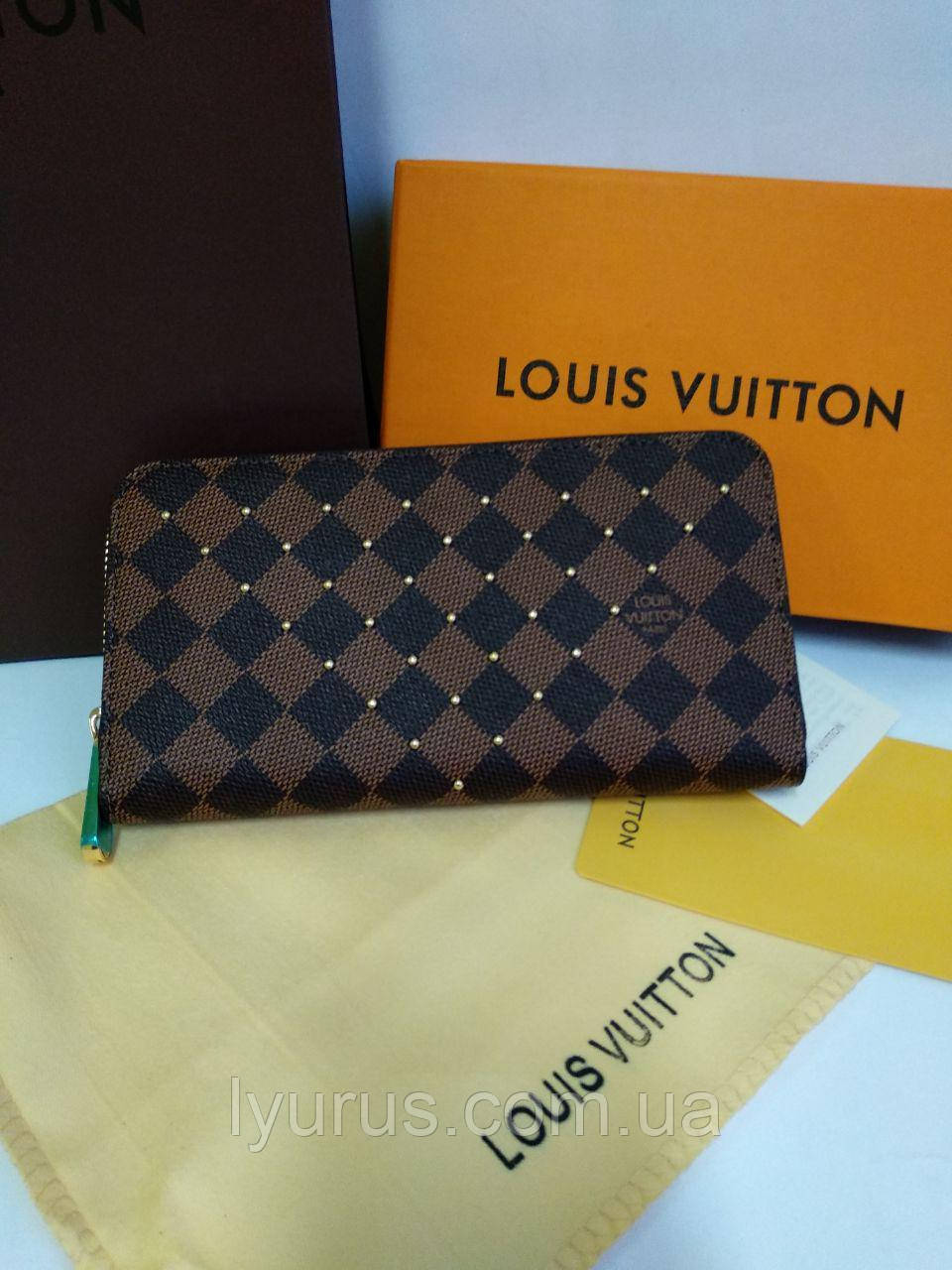 Кожаный кошелек Louis Vuitton Луи Виттон
