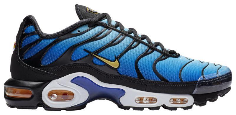 032ea5354 Кроссовки/Кеды (Оригинал) Nike Air Max Plus Black/Chamois/Sky Blue ...