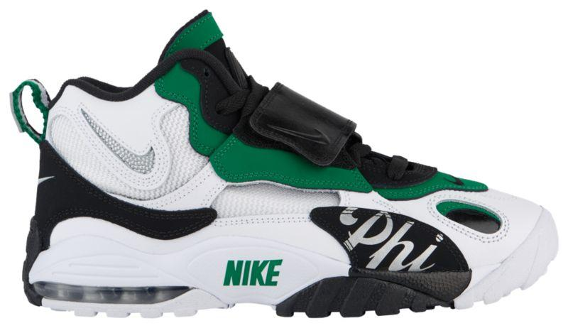 Кроссовки Кеды (Оригинал) Nike Air Max Speed Turf White Metallic Silver  caf620b47369c