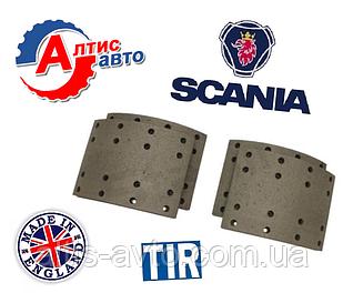 Тормозные накладки Scania комплект на ось 413х203