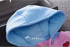 Пальто на девочку демисезонное розовое весна-осень 1-4 года  , фото 3