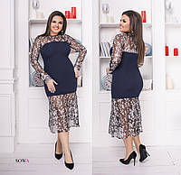 Платье  женское батал  Марина , фото 1