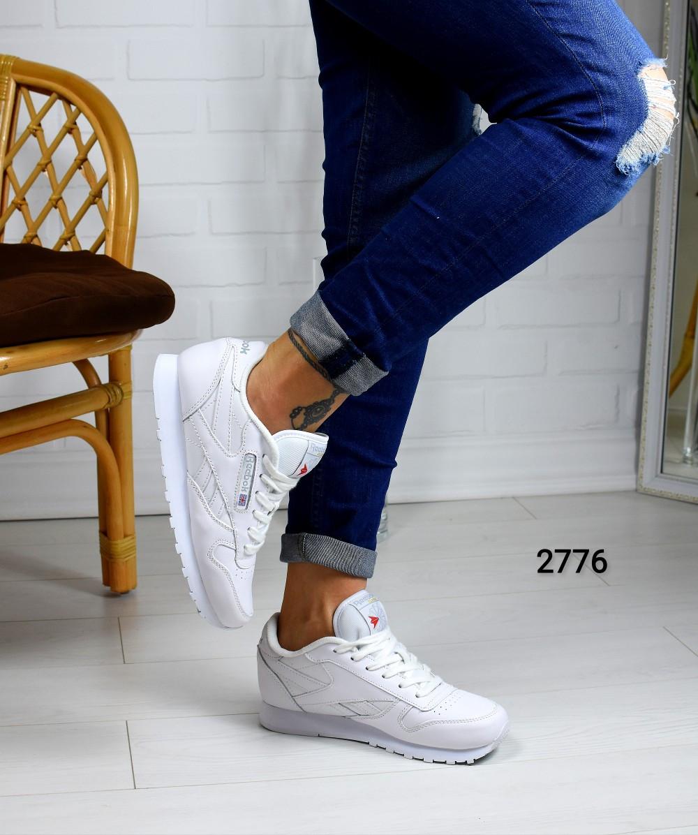 Женские белые кожаные Кроссовки рибок 13-293  продажа, цена в ... 2f69fcea4e3