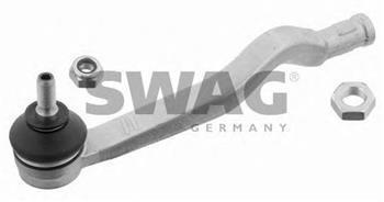Наконечник рулевой тяги левый DACIA LOGAN (рулевые наконечники) (пр-во SWAG 60929623)