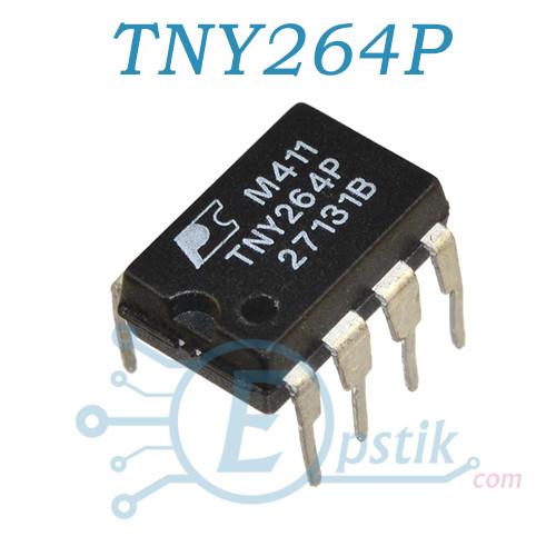 TNY264P, ШИМ контроллер Low Power Off-line switcher, DIP7