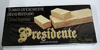 Туррон арахисовый изысканный Turron Cacahuete Presidente Испания 200г.