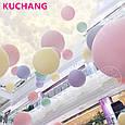 """Латексные воздушные шарики круглые макарун ассорти пастель 10"""" (26 см)  10 шт, фото 9"""