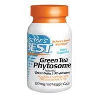 Зеленый чай (Green tea), Doctor's Best, 150 мг, 60 капсул
