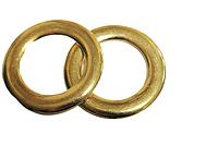 Кольцо литое декоративное (для одежды, сумок) 42 мм