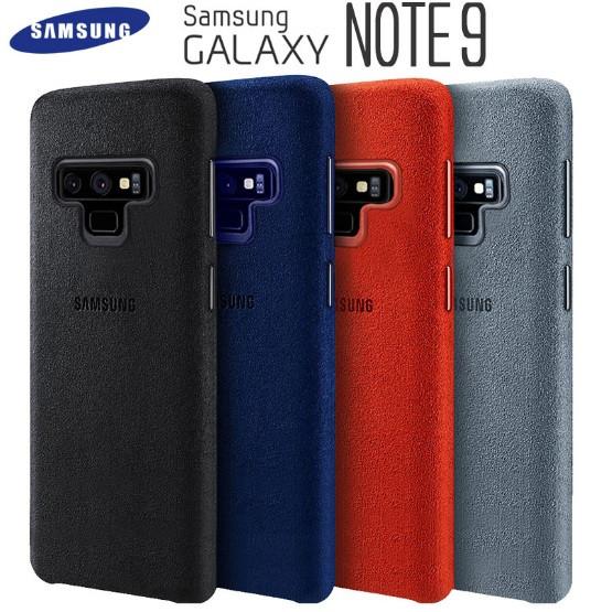 Оригинальный чехол Alcantara для Samsung Galaxy Note 9 N960