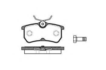 Гальмівні колодки задні Форд IKON V/ Фокус/ Фокус універсал (пр-во ROADHOUSE 2693.00)