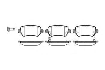 Гальмівні колодки задні HYUNDAI, KIA, Opel Astra G, Опель Астра G (пр-во ROADHOUSE 2957.02)