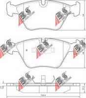 Тормозные колодки передние  БМВ 3/ 5/ 7/ Z3/ Z4 (пр-во A.B.S. 36650)