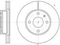 Тормозной диск передний  Форд ЭскортV/ Сиера (пр-во REMSA 6215.10)