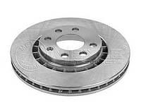 Тормозной диск передний  Деу Опель (пр-во MEYLE 6155216001)