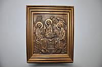 Икона деревянная (Три Ангела Хранителя), размер 250х300, доставка по Украине