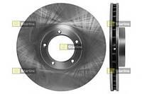 Тормозной диск передний Ford Transit, Форд Транзит/ Транзит TOURNEO (пр-во STARLINE PB2036)