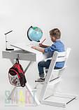 Регулируемый стульчик SMART Цвет: Hazy Grey, фото 2