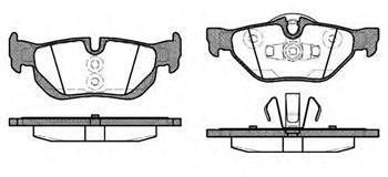 Гальмівні колодки задні БМВ 1/ 3/ X1 (пр-во ROADHOUSE 21145.10)