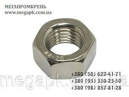 Гайка шестигранная нержавеющая М2 DIN 934, сталь А2-70