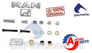 Ремкомплект суппорта Man Tga, Tgx, Tgs, Tgx, командор (Meritor ELSA 1)