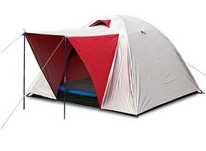 Палатка туристическая 3х местная с тентом и тамбуром SY-014