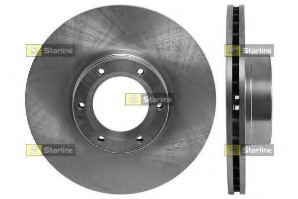 Тормозной диск передний  Опель, Рено (пр-во STARLINE PB2731)