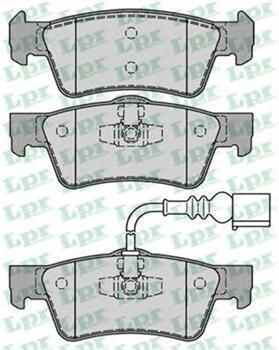 тормозные колодки на транспортер т5 задние