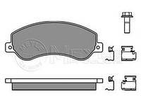 Гальмівні колодки передні Ford Transit, Форд Транзит/ Транзит TOURNEO (пр-во MEYLE 0252448419/W)