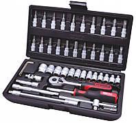Набор торцевых головок с трещоткой для автосервиса 48 шт. 1/4 917.0648 KS Tools Германия