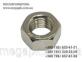 Гайка шестигранная нержавеющая М4 DIN 934, сталь А2-70