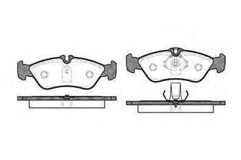 Гальмівні колодки задні Мерседес Спринтер, Mercedes Sprinter, Фольксваген (пр-во ROADHOUSE 2580.00)