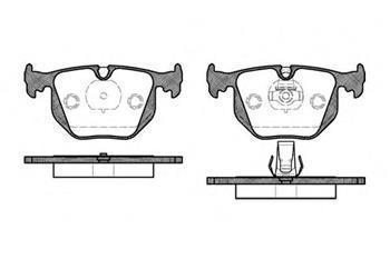 Гальмівні колодки задні БМВ, LANDROVER (пр-во ROADHOUSE 2381.20)