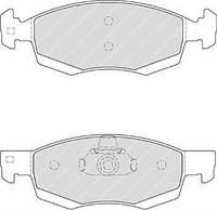 Тормозные колодки передние  Рено, Дачия (пр-во FERODO FDB4035)