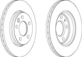 фольксваген транспортер т5 задние тормозные диски