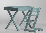 Супер многофункциональный стол + стул SMART Цвет: Aqua Blue