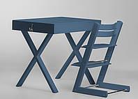 Супер многофункциональный стол + стул SMART Цвет: Azure