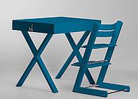 Супер многофункциональный стол + стул SMART Цвет: Blue
