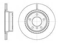 Гальмівний диск задній БМВ 1/ 3 (пр-во ROADHOUSE 61231.10)
