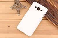 Чехол накладка бампер для Samsung Galaxy Grand Prime G530 белый