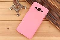 Чехол накладка бампер для Samsung Galaxy Grand Prime G530 розовый