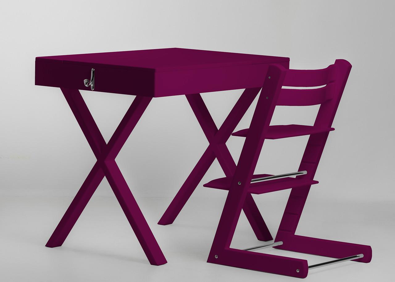 Супер многофункциональный стол + стул SMART Цвет: Purple