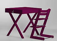 Супер многофункциональный стол + стул SMART Цвет: Purple, фото 1