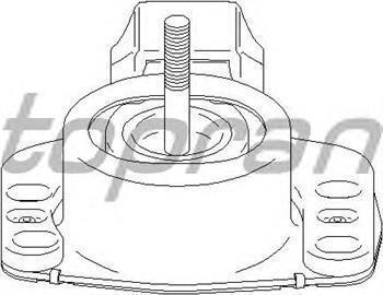 Подушка двигуна, опора Опель, Рено (пр-во HANS PRIES 207756)