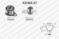 Комплект ГРМ (ремень и ролики) Дачия, Renault Kangoo, Рено Кенго (пр-во SNR KD455.37)