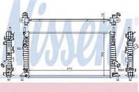 Радиатор охлаждения Ford Focus, Форд Фокус, Мазда, Вольво (пр-во NISSENS 62017A)