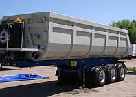 ВАРЗ-НПС 2740С 3-осный полуприцеп-самосвал  грузоподъемностью 52 100 кг.