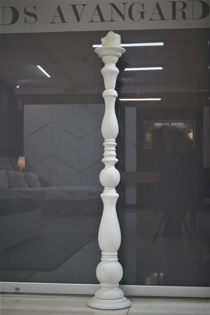 Подсвечники Amelli из массива высота 1350