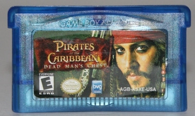 "Картридж на GBA ""PIRATES CARIBBEAN"""